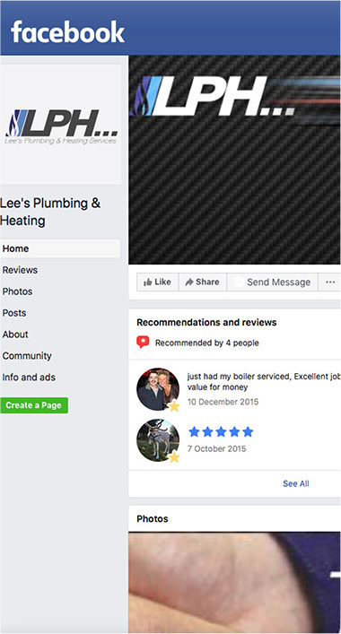 Lees Plumbing & Heating Limited Mansfield